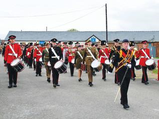 Pride of Cadet Musicians at Altcar