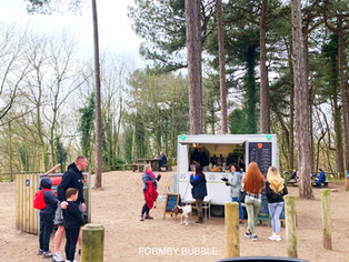 What a lovely day it's been today with the sun shining and restrictions lifted in Formby