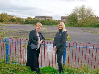 Smithy Green Park to re-open with new equipment in July