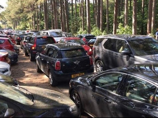 Parking at National Trust Formby was completely full by 11am this morning, it is extremely busy
