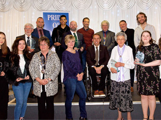 The third year of the Pride of Formby awards took place last Friday