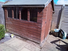 Garden Shed for £1 in Formby