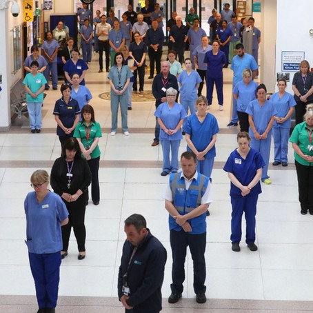 A national minute's silence to remember the victims of the pandemic to be held at 12pm today
