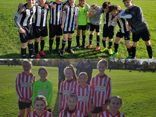 Formby Junior Sports Club - FRANK'S REPORT - 30th Oct, 2017