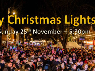 Formby Christmas Lights Switch-on is hosted by Radio City's Claire Simmo on Sunday 25th November