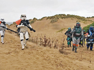 The Hunt is on as Star Wars v Predator came to Formby