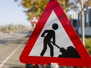 Carriageway works are set to begin next week at the Tesco junction but not for the pedestrian crossi