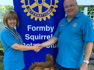 Formby Squirrels Rotary Club raise over £600 in their annual Wine tasting night