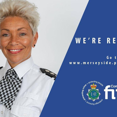 Merseyside Police are recruiting Police Constables