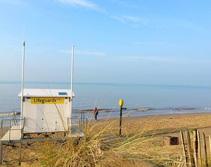 Beach car parks closed due to High Tides from today except Formby