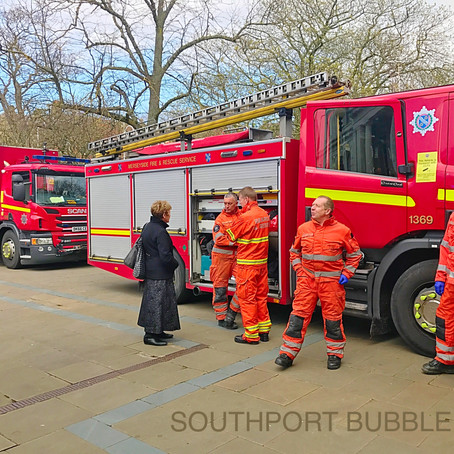 Lift Rescue of 5 occupants at Southport Town Hall