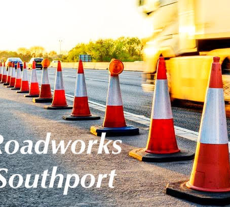 Roadworks in Southport 30th October to 5th November