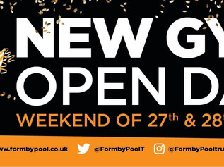 Formby Pool Gym Open Weekend FREE for all none members until 5pm Sunday
