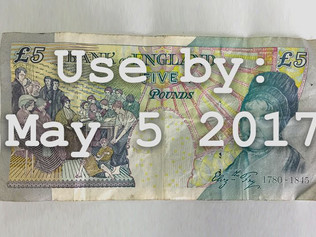 You only have till Friday to spend your old £5 notes - or even banks might not take them!