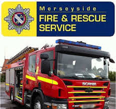 Three fire appliances attend a housefire in Bootle