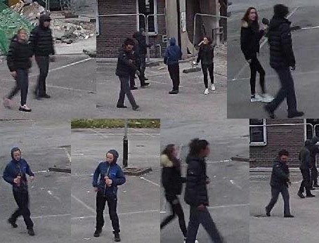 Merseyside Police are asking if you recognise anyone in theses images?
