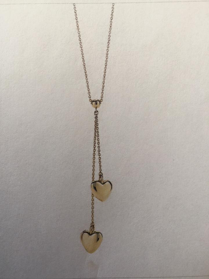 Tiffany Double Drop Heart Pendant lost in Formby.jpg