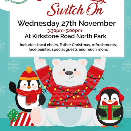 Christmas Light Switch On in Litherland is Wednesday 27th November