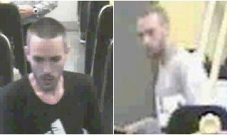 CCTV images released after men threatened train guard with violence