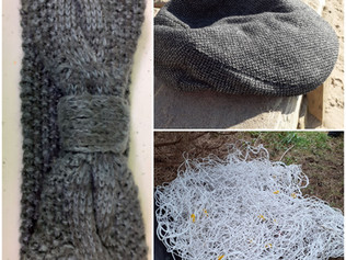 Lost items found in Formby - Headband, Cap and Football Net