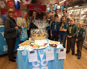 Co-op in Formby have raised over £12,000 for local causes since opening just over a year ago