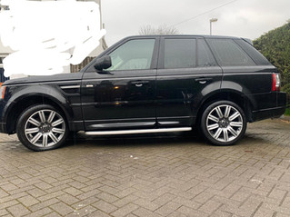 2012 Range Rover Sport 3.0 SDV6 Autobiography with full leather interior