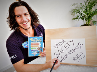 Water Safety Wednesday – Home Schooling Resource 'Launched' by RNLI