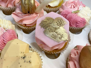 Delivering Cupcakes for Mother's Day this March