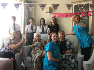 Formby Woman celebrates 102nd birthday in style
