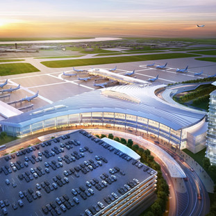 Louis Armstrong New Orleans International Airport New Terminal