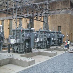 USACE Vicksburg District Narrows Dam Switchyard & Power Plant Upgrade