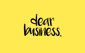 Dear Business – We're disappointed. Signed, Generation Next.