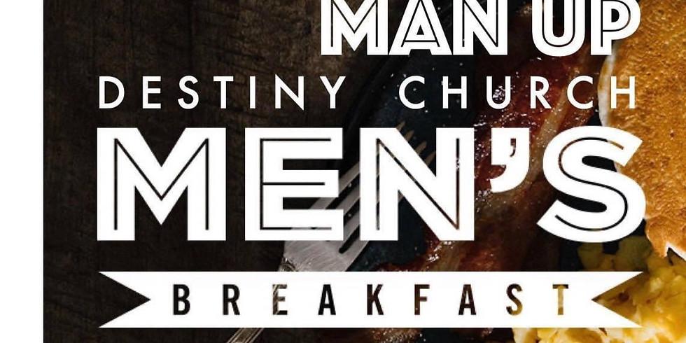 Man Up Men's Breakfast