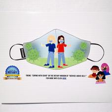FJUSD Student Digital COVID mask