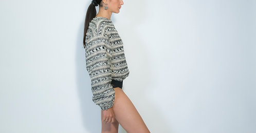pull, tweed, ready-to-wear, via gioia, sweat-shirt, luxury, vêtement, prêt-à-porter