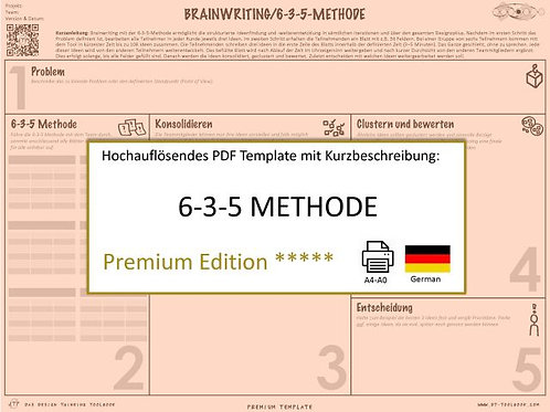 6-3-5 Method (German)