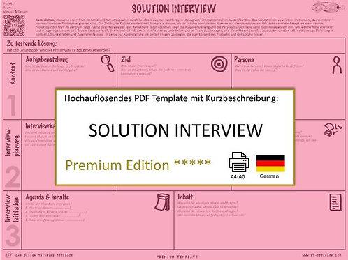 Solution Interview (German)