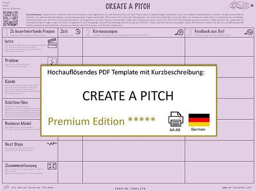 Create a Pitch (German)