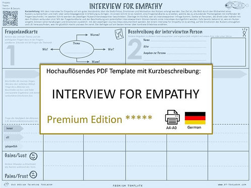 Interview for Empathy (German)