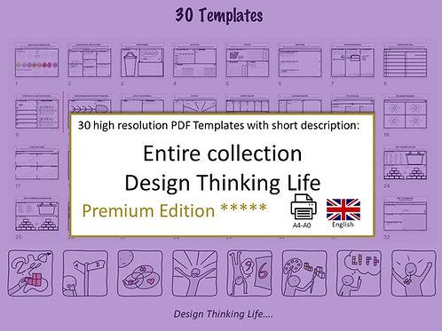 30 Design Thinking Life Templates (English)