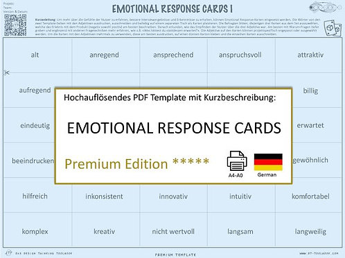 Emotional Response Cards (German)