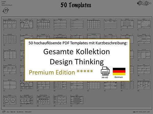 50 Design Thinking Templates (German)