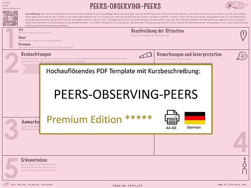 Peers Oberving Peers (German)