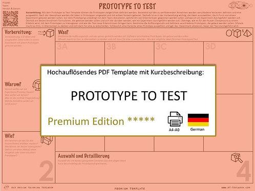 Prototype to Test (German)
