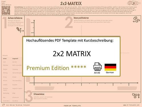 2x2 Matrix (German)