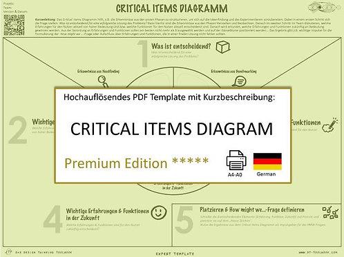 Critical Items Diagram (German)