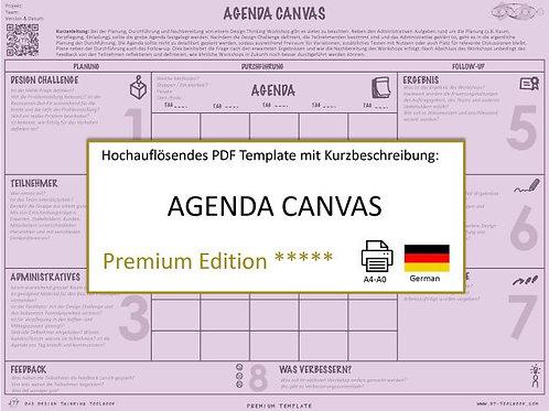 Agenda Canvas (German)
