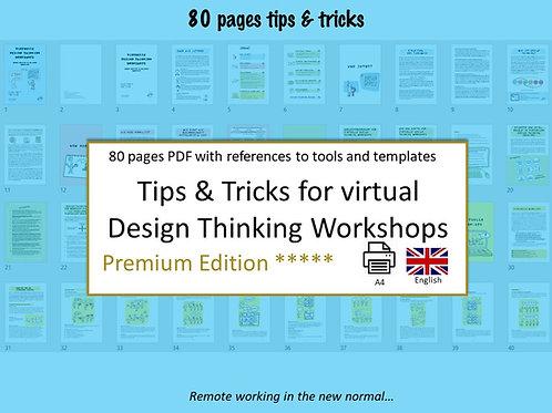 Tips & Tricks for virtual Design Thinking Workshops