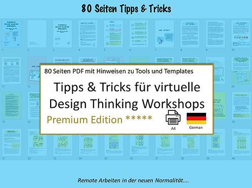 Tipps & Tricks für virtuelle Design Thinking Workshops
