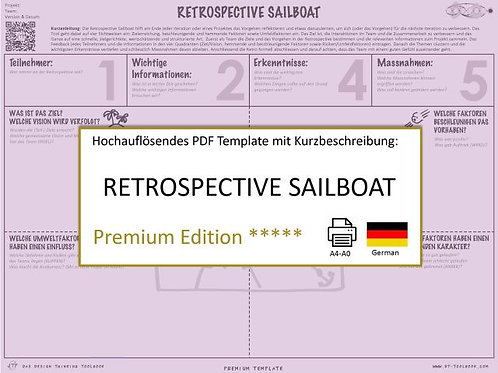 Retropective Sailboat (German)